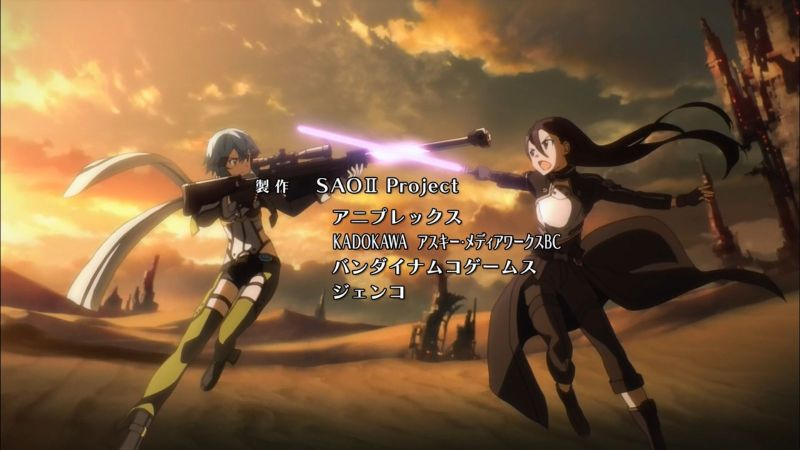 SAO II Episode 1-2