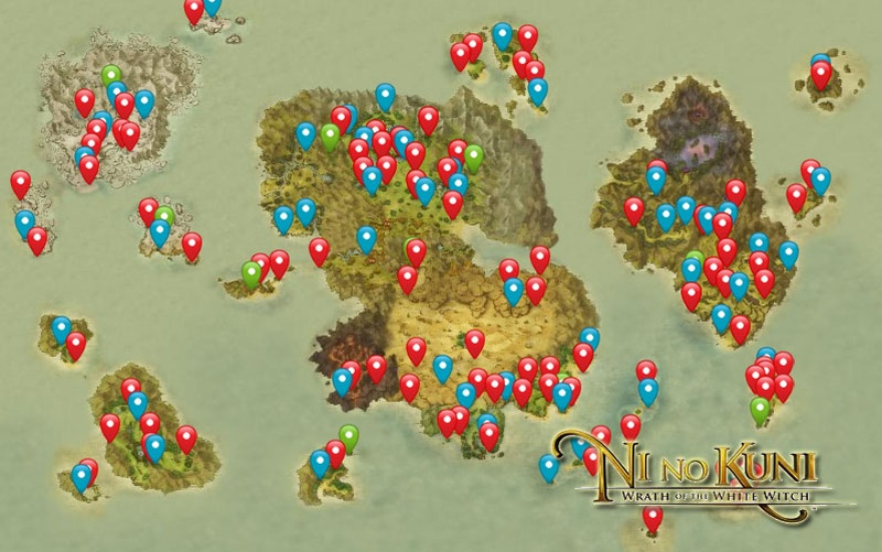 Ni No Kuni Map